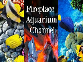 Fireplace Aquarium Channel Logo