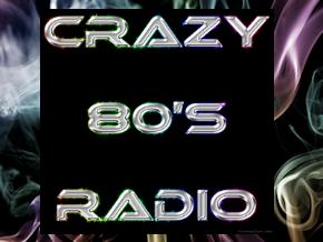 Crazy 80's Radio Logo
